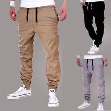 Mens Trousers Sweatpants Harem Pants Slacks Casual Jogger Dance Sportwear Baggy