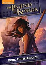 The Legend of Korra: Book Three - Change (DVD, 2014, 2-Disc Set) NEW