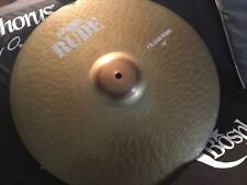 "Paiste Rude 19"" Crash Ride Cymbal - Superb Condition"