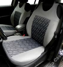 2 GREY SEAT COVERS FOR TOYOTA AVENSIS CELICA COROLLA RAV4 VERSO
