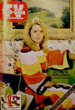 TV Guide 1976 Bewitched Elizabeth Montgomery International Tele Guia COA