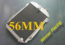 56mm aluminum radiator for Chevy Hot/Street Rod 6 Cylinder L6 M/T 1939 39
