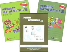Primary Mathematics 5B SET -- Textbook, Workbook, & Home Instructor U.S. Edition