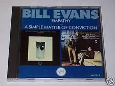 CD BILL EVANS EMPATHY SIMPLE MATTER OF CONVICTION 2 album VERVE 1962 1966 -nuovo