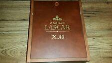 Cognac Lascar XO Wood Box Sliding Lid Empy