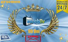 More details for weeb.tv 90 dni kod premium !!!!!! automat 24/7 | najtaniej!