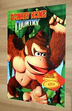 2000 Nintendo 64 Donkey Kong Country / Pokemon Poster 44x30cm
