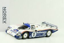 1 18 Norev Porsche 962 C Winner le Mans 1986 with Rothmans decals