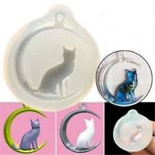 iande Cat Silicone Resin Mold For Diy Jewelry Pendant Mould Handmade Craft