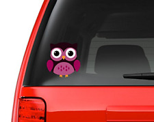 """Cute Little Owl #7 Full Color - 5"""" Vinyl Decal for Car, Macbook, or Other Laptop"""