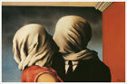 Rene Magritte Fine Art Poster Print of Painting The Lovers