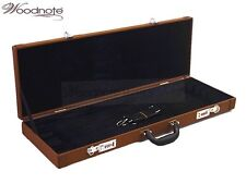 New Brown 12 - Bow Case-Fit Violin/ Viola/ Cello Bow / Free U.S Shipping