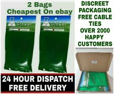 2 X Fresh SMART CO2 Bags Hydroponic Growing Large Yields 5-15m 2Area Original UK