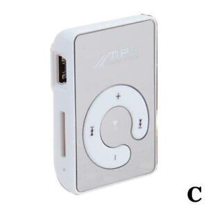 Workout Mp3 Player Mini Clip Portable Mirror Sport Walkman Music Audio A6X5