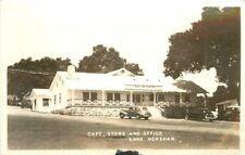 Autos Cafe Store Office 1940s San Diego California RPPC Real Photo 12582