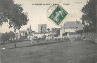 St-SERNIN-du-BOIS - entrée du village