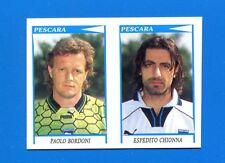 CALCIATORI PANINI 1998-99 Figurina-Sticker n. 549 -BORDONI-CHIONNA PESCARA-New
