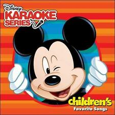 KARAOKE - DISNEY KARAOKE SERIES: CHILDREN'S FAVORITE SONGS NEW CD