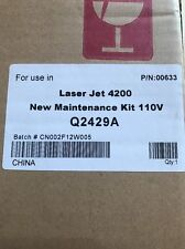 Laser Jet 4200 Maintenance Kit 110V Q2429A