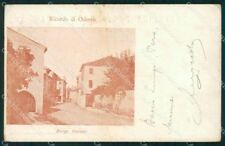 Treviso Oderzo Borgo Cavour cartolina VK3466
