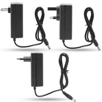AC 100-240V DC 12.6V Lithium ion/Li-ion Battery 2A Smart Charger US/UK/EU Plug