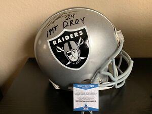 Oakland Raiders Charles Woodson Signed Authentic Proline Helmet w/Beckett  COA