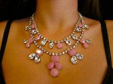 EXQUISITE Kate Spade NY Double Strand Pink BRIDAL SECRET GARDEN Necklace WEDDING