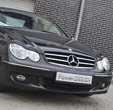 Sourcils Pour Mercedes CLK W209 2002-2010 Phare Paupières couvercles en plastique ABS