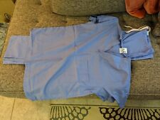 Scrubs and Beyond Powder Blue Scrub Pants and Top Size Xs