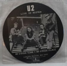 U2 - Live In Boston / An Other Time An Other Place - Picture Disc - Never Played