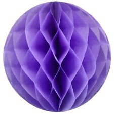 "20 Color 4"" 8"" 12"" HoneyComb Tissue Paper Ball Lantern Pom Poms Wedding Birthday"