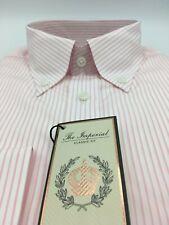 Thomas Pink Finest 170/'s Camicia prezzo consigliato: £ 175 nuovo con etichette bianco UK:18