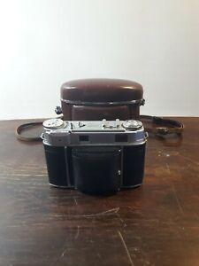 Kodak Retina II c Kamera (von 1954) mit Ledertasche - Gebraucht