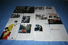 LOT of 30 BEATLES John Lennon McCartney Harrison Ringo Magazine Photo Clippings