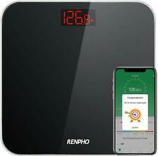 RENPHO Bluetooth Bathroom Scale Digital Weight with BMI, Smart Weighing Body