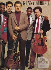 KENNY BURRELLgenerationBLUE NOTE HOLLAND 1987 EX LP  (LP2867)