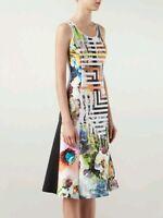 Clover Canyon Floral Maze Dress rrp$480