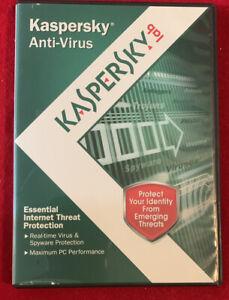 Pre-owned Kaspersky Anti-virus 2010 W/key
