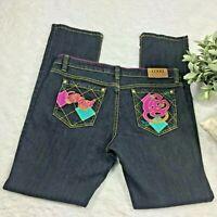 Coogi Women's Blue Dark Wash Boot Cut Jeans - Size 11/12