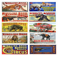 HO Scale Ringling Brothers Animal  Circus wagons (10)