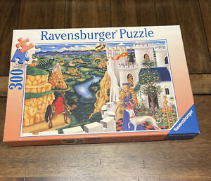 2002 Ravensburger Puzzle The Enchanted Kingdom 300 Pieces ~ Complete!