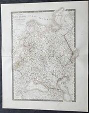 1826 Adrien Hubert Brue Large Antique Map of Russia in Europe