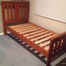 Single Timber Bed Frame