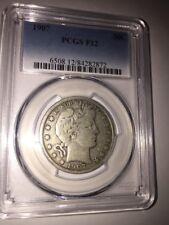 1907 PCGS 50C F12 #6508.12/84282872 Half Dollar