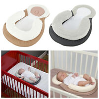 Baby Newborn Pillow Cushion Prevent Flat Head Sleep Nest Pod Anti Roll Safety AU