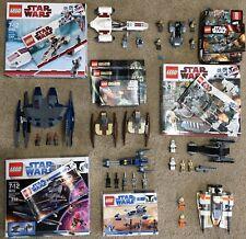 HUGE LEGO STAR WARS LOT MUST SEE!!! RARE SETS!!!