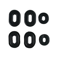 Black Side Cover Grommet Set for Honda CB750K,CB750F Super Sport,CB550F,CB200K