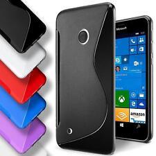 Handy Hülle Nokia Lumia 530 Schutz Case Silikon Cover Tasche Schutzhülle Bumper