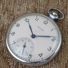 Open face Molnija Molnia Vintage pocket watch Russian Soviet mechanical movement