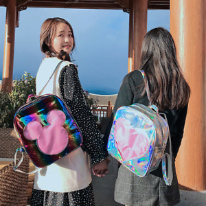 Harajuku Lolita Large Capacity School Shoulder Bag Laser Travel Backpack Handbag